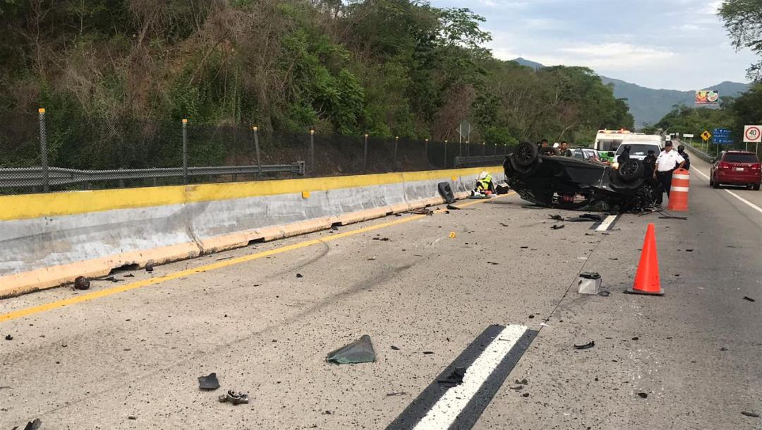 Foto: El tránsito es normal en la Autopista del Sol, reportan autoridades de Protección Civil en la entidad, 18 de agosto de 2019 (Noticieros Televisa)