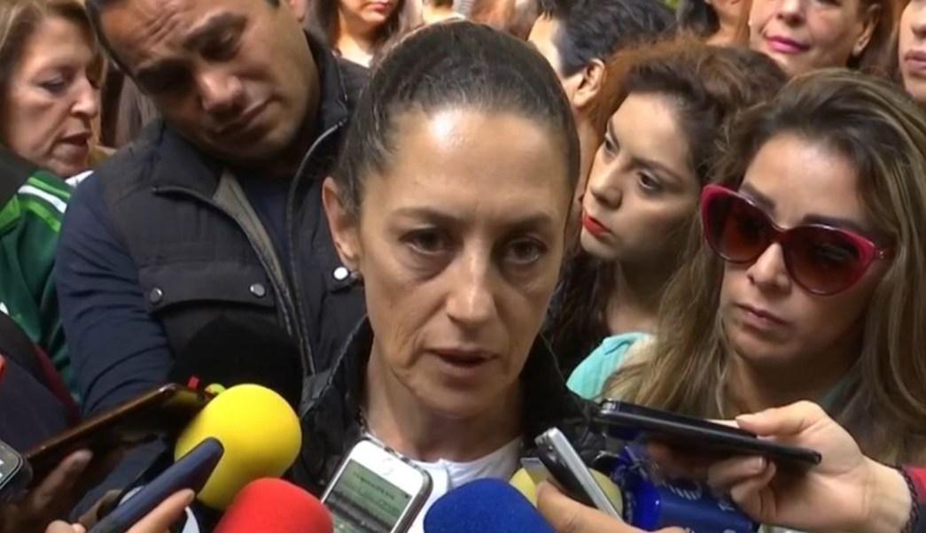 Foto: Claudia Sheinbaum dijo que no se tiene reporte de casos de sarampión, 4 de agosto de 2019 (Noticieros Televisa)