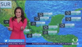 Clima Al Aire: Prevén lluvias en gran parte de México