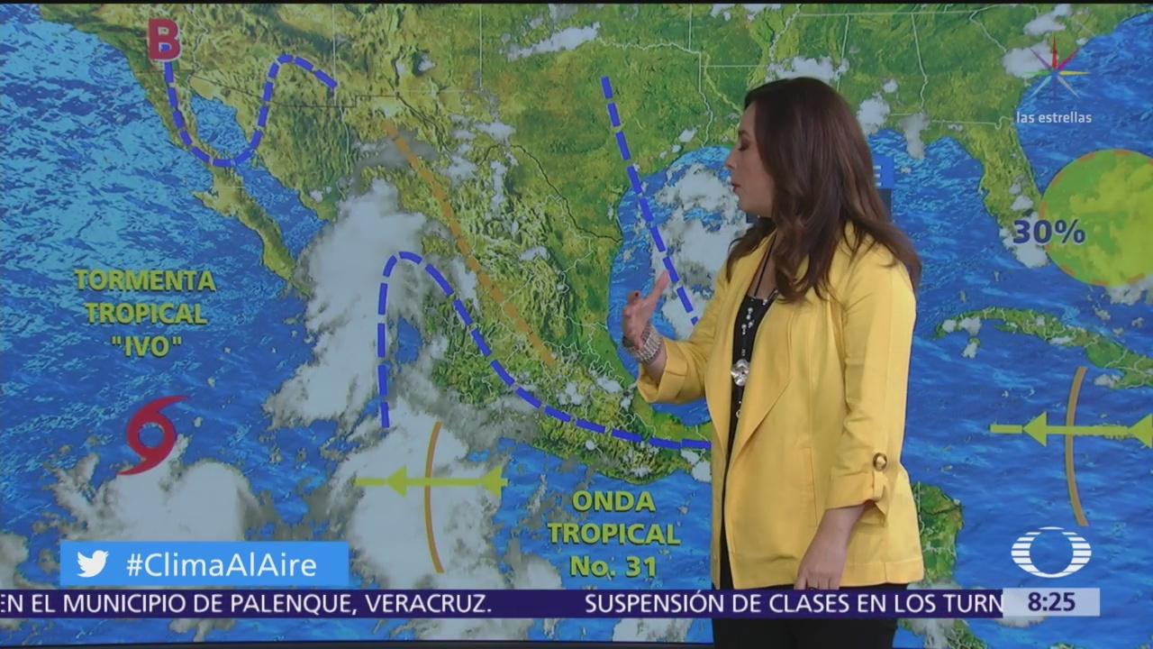 Clima Al Aire: Tormenta tropical 'Ivo' seguirá provocando lluvias