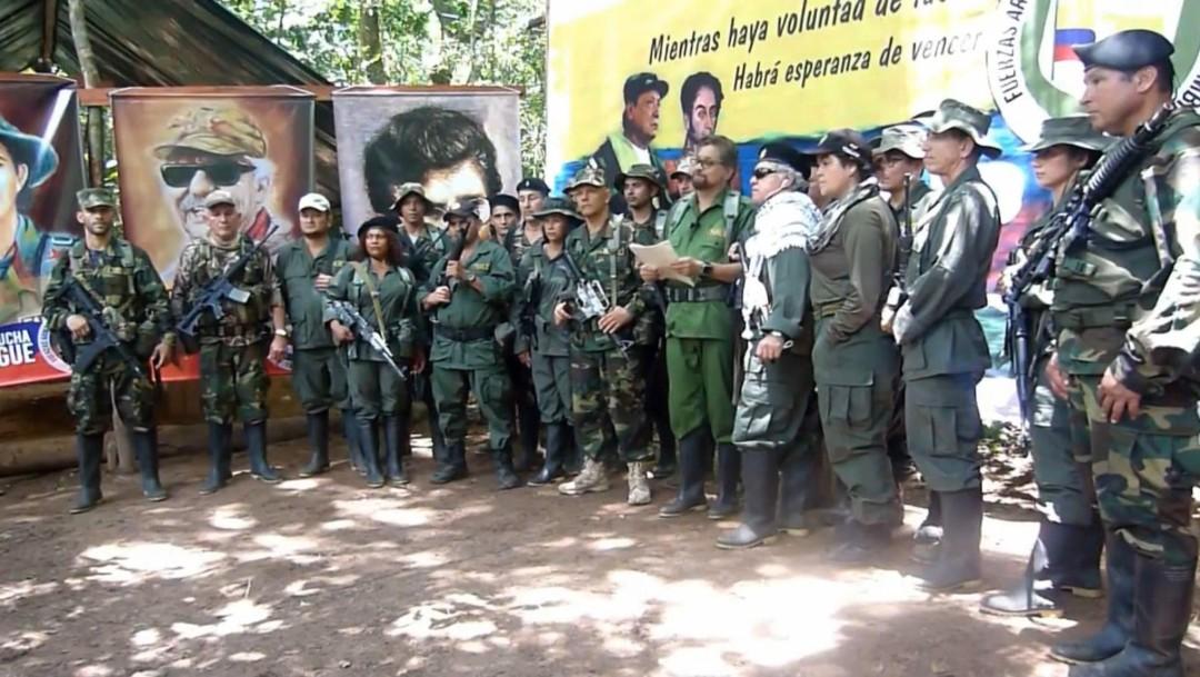 Foto: Exguerrilleros de las FARC, 29 de agosto de 2019, Colombia