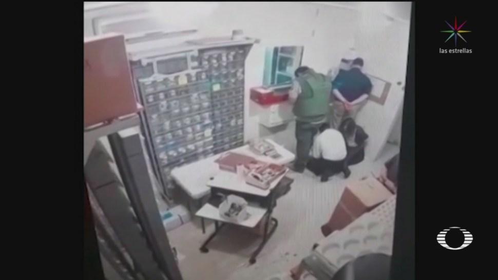 Foto: Video Momento Robo Casa De Moneda 8 Agosto 2019