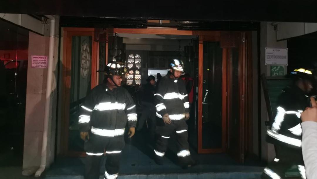 Foto: Se registró un conato de incendio en un restaurante de comida tailandesa en la colonia Roma Norte, 16 agosto 2019