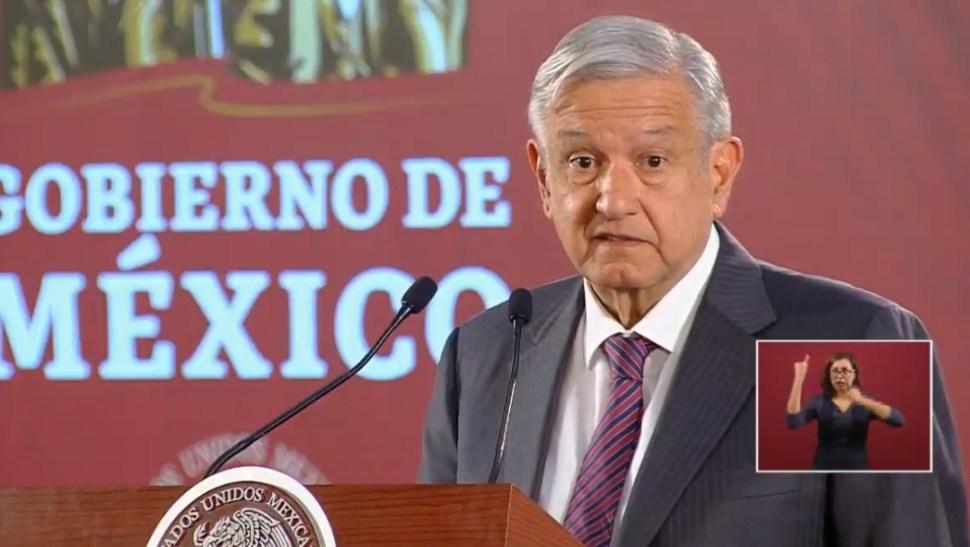Foto: López Obrador, 16 de agosto de 2019, Ciudad de México