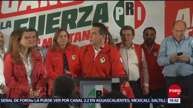 Foto: Confirman Triunfo Alejandro Moreno Presidente PRI 14 Agosto 2019