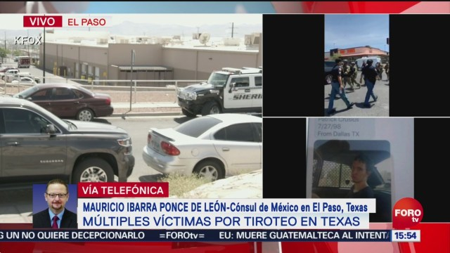 FOTO: Consulado activa protocolos por tiroteo en El Paso, Texas, 3 AGOSTO 2019