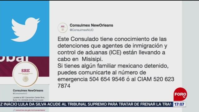 FOTO: Consulado México Activa Grupo Respuesta Rápida Redadas,