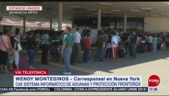 FOTO: Continua Crisis Aeropuertos EEUU Por Caída Sistemas Aduanas, 16 agosto 2019