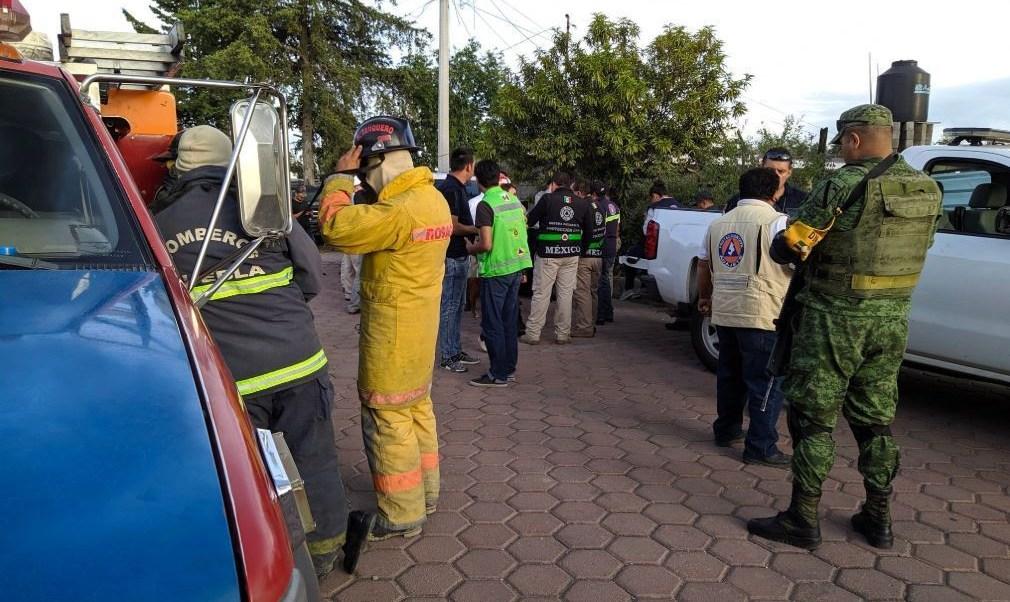 Controla fuga de Gas LP en Acajete, Puebla