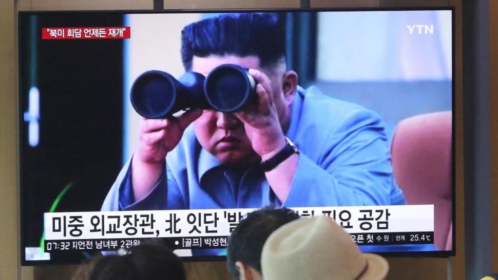 Foto: Kim Jong-un, 2 de agosto de 2019, Corea del Norte