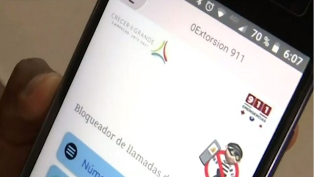 Foto Crean aplicación para combatir extorsiones en Campeche 9 agosto 2019