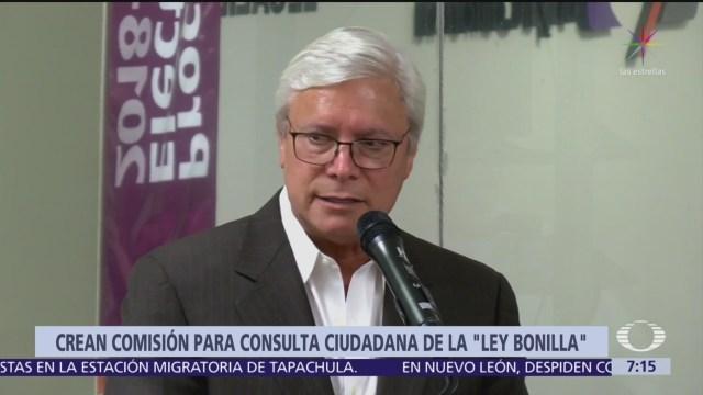 Crean comisión en Congreso de Baja California