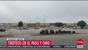 FOTO:Crónica de los tiroteos de Dayton, Ohio y de El Paso, Texas, 4 Agosto 2019