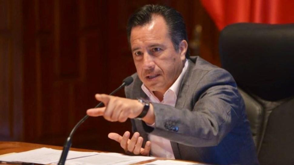 Foto: Cuitláhuac García, gobernador de Veracruz