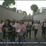 Foto: Damnificados Sismo Protestan Cdmx 7 Agosto 2019