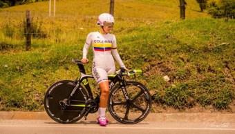 Danna Valentina Méndez ciclista colombiana