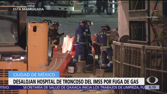 Desalojan a pacientes del hospital de Troncoso del IMSS por fuga de gas