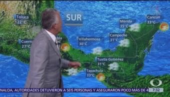 Despierta con Tiempo: Altas temperaturas en el norte de México y lluvias en el centro