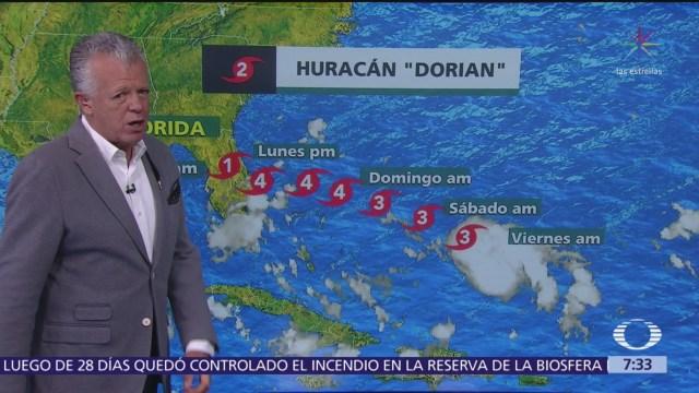 Despierta con Tiempo: Huracán 'Dorian' se aproxima a Florida