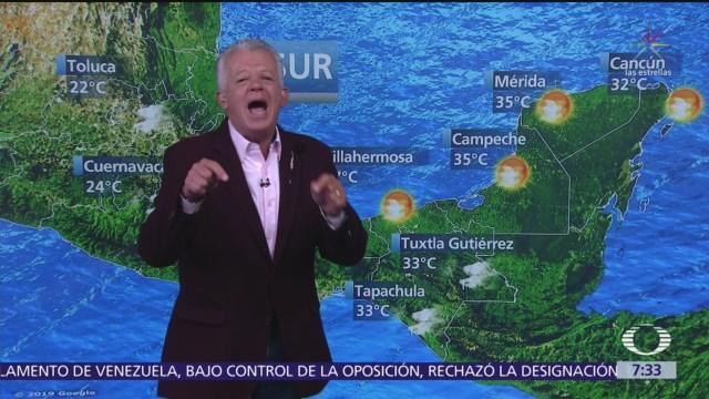Despierta con Tiempo: Prevén lluvias y una temperatura de 25 grados en la CDMX
