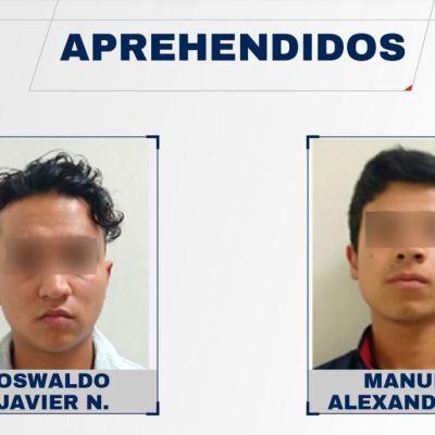 Detienen a hermanos que golpearon y atropellaron a hombre en Puebla
