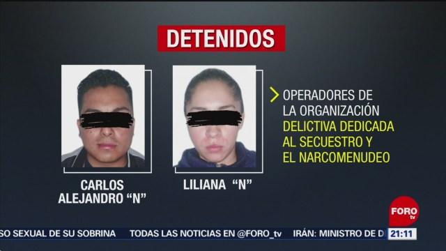 Foto: Detienen Hija Ojos Cindy Líder Sicarios Cártel Tláhuac 29 Agosto 2019