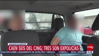 FOTO: Detienen Seis Integrantes CJNG Aguascalientes