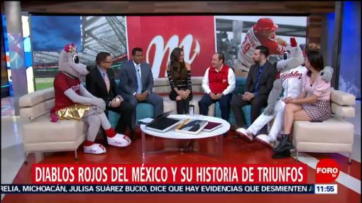 Diablos Rojos del México y su historia de triunfos