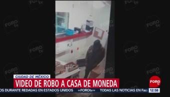 Difunden video del asalto a la Casa de Moneda de México