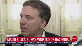 FOTO: Dimite ministro de Hacienda de Argentina, 17 Agosto 2019