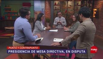 Foto: Mesa Directiva Cámara Diputados 8 Agosto 2019