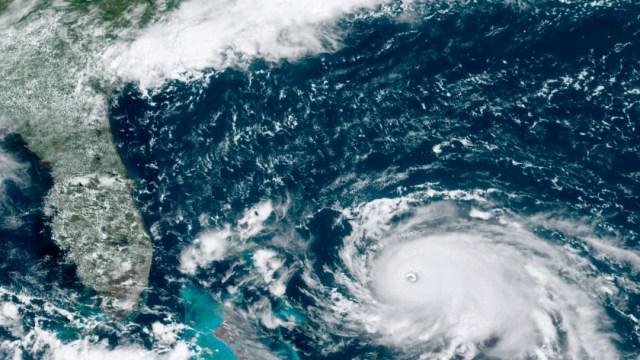 """Foto: Trump destacó este sábado que se trata de un huracán """"extremadamente peligroso"""", 31 de agosto de 2019 (AP)"""