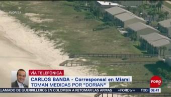 FOTO: 'Dorian' es huracán categoría cuatro, 31 Agosto 2019