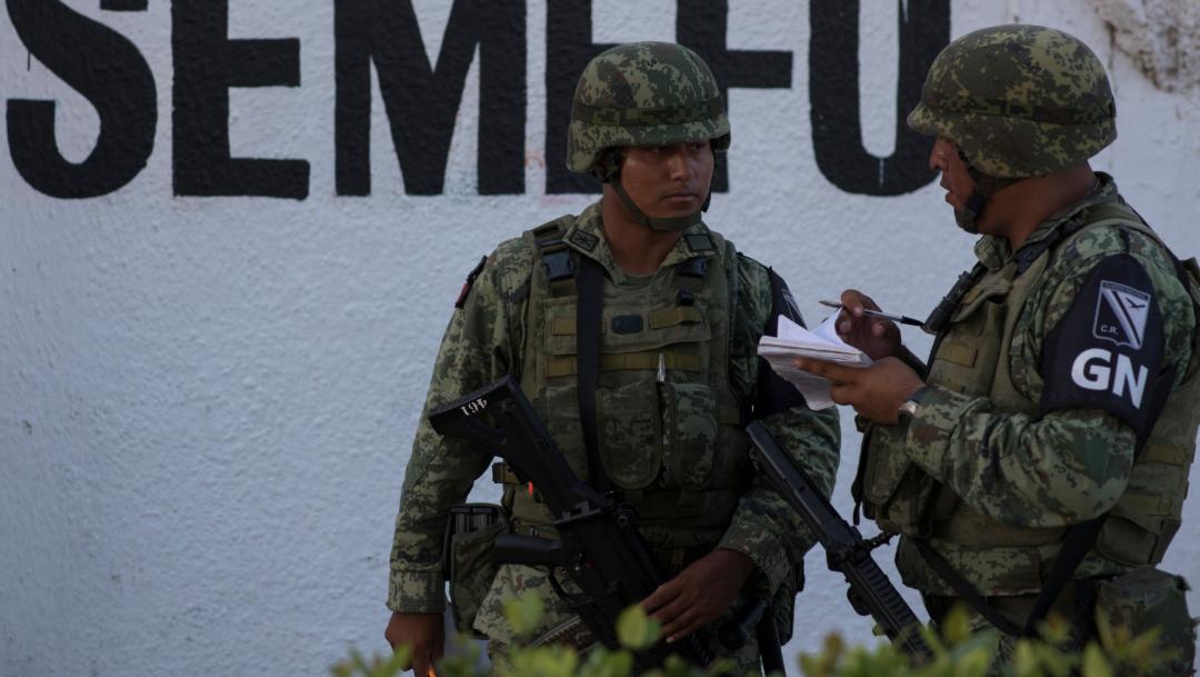 Foto: No se han podido nombrar a los 12 coordinadores territoriales y 32 estatales de la Guardia Nacional, 30 de agosto de 2019 (Cuarto Oscuro, archivo)