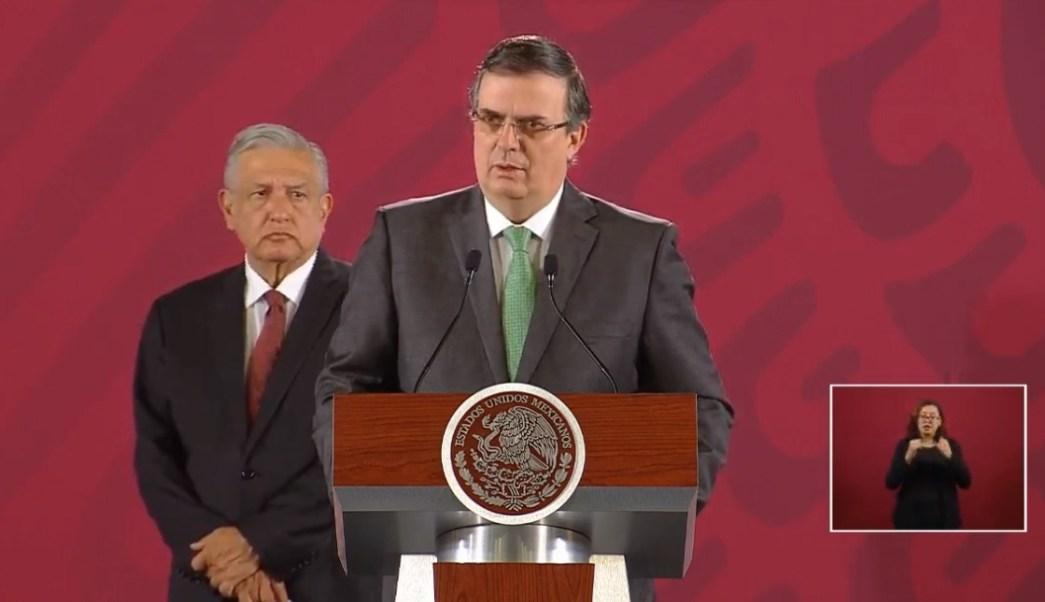 Foto: Marcelo Ebrard y López Obrador, 14 de agosto de 2019, Ciudad de México