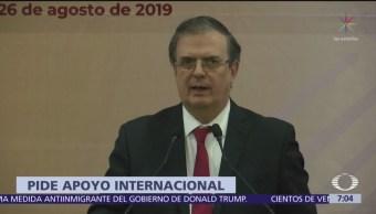 Ebrard participa en cumbre de rectores de México-Centroamérica
