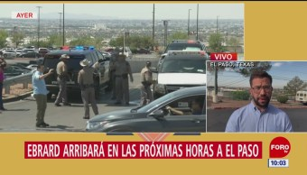 Ebrard visitará El Paso, Texas, tras tiroteo