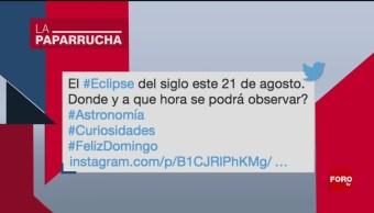 Foto: Eclipse Siglo Noticias Falsas Día 20 Agosto 2019
