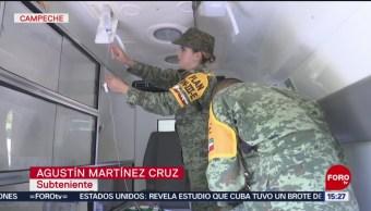FOTO: Ejército listo ante cualquier contingencia por huracanes en México, 24 Agosto 2019