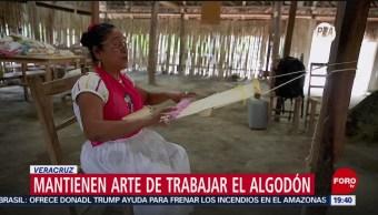 Foto: Arte Trabajar Algodón Veracruz