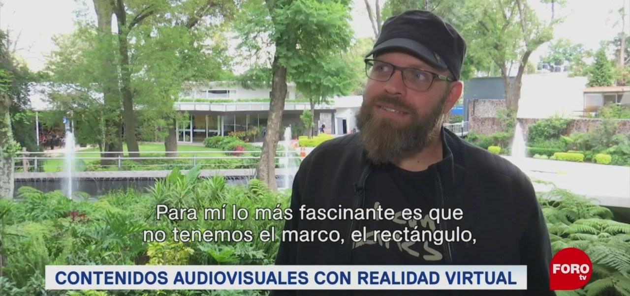 FOTO: El cineasta Ricardo Laganaro habla sobre la realidad virtual, 25 Agosto 2019