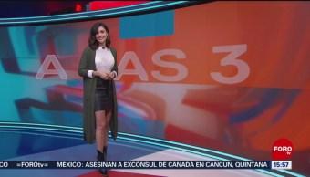 FOTO: clima A las Tres Daniela Álvarez 26 agosto 2019