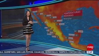 clima Mayte Carranco 7 agosto 2019