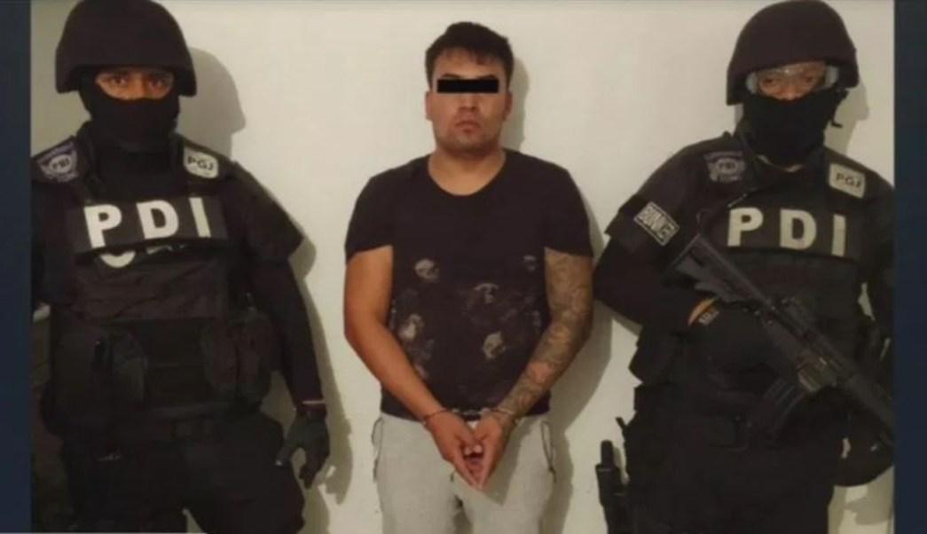 Foto: Detienen a 'El Perrillas', líder de una banda de sicarios en Tláhuac, 24 agosto 2019