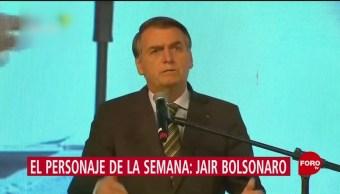Foto: Personaje Semana Jair Bolsonaro 23 Agosto 2019