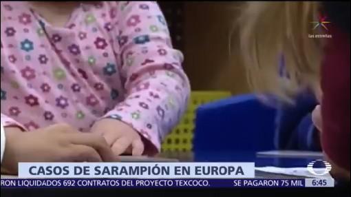 El sarampión toma fuerza en Europa