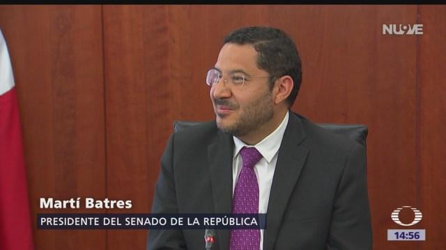 FOTO: Senado Persiste Confrontación Entre Monreal Batres