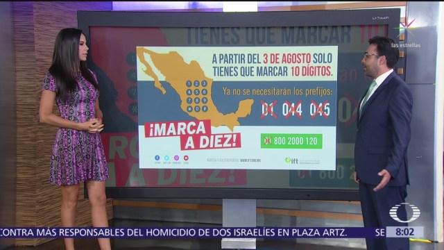 ¿En qué consiste la nueva marcación telefónica en México?