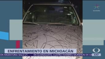 Enfrentamiento en Michoacán deja un muerto