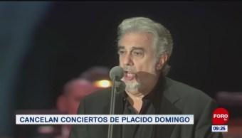 #EspectáculosenExpreso: Cancelan conciertos de placido domingo